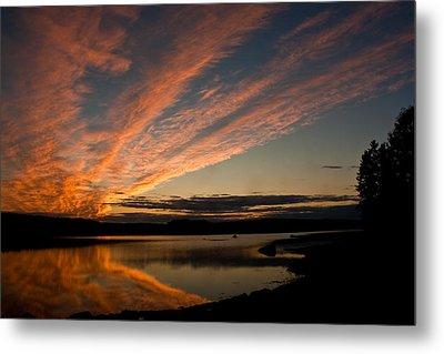 Bagaduce Sunset Metal Print by Greg DeBeck