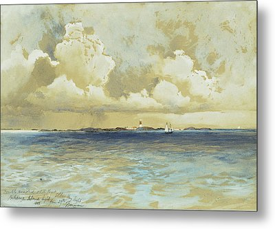 Bahama Island Light Metal Print