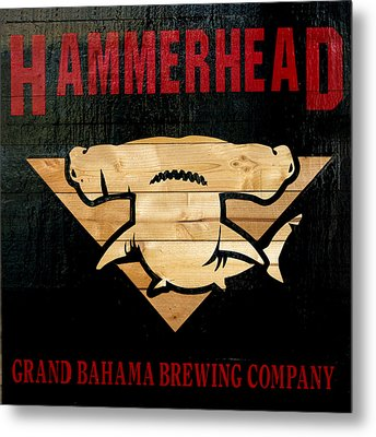 Bahamas Beer Sign Metal Print by Ken Reardon