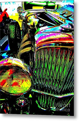 Bahre Car Show 156 Metal Print
