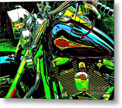 Bahre Car Show 223 Metal Print