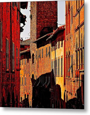 Baked In The Tuscan Sun Metal Print by Ira Shander