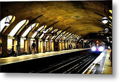 Baker Street London Underground Metal Print