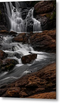 Bakers Fall IIi. Horton Plains National Park. Sri Lanka Metal Print by Jenny Rainbow