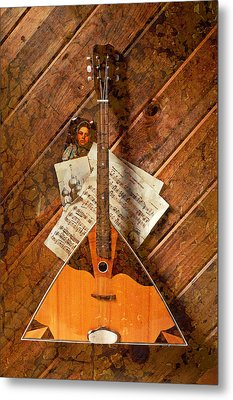 Balalaika Metal Print by Garry Gay
