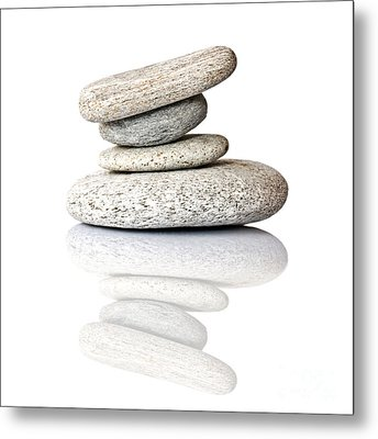 Balanced Metal Print by Delphimages Photo Creations