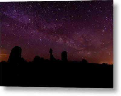 Balancing The Universe Metal Print by Silvio Ligutti