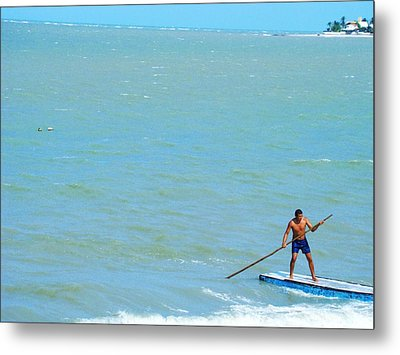 Metal Print featuring the photograph Balancing by Zinvolle Art
