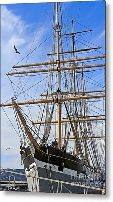 Metal Print featuring the photograph Balclutha by Kate Brown