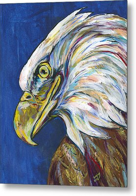 Bald Eagle Metal Print by Lovejoy Creations