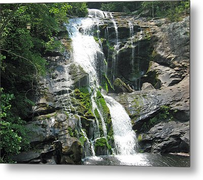 Bald River Falls Metal Print