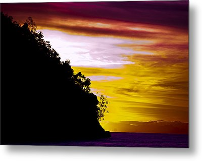 Metal Print featuring the photograph Bali Veiw by Terry Cosgrave