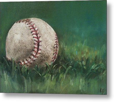 Ball Number One Metal Print