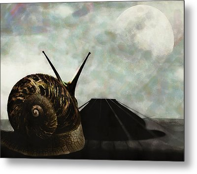 Metal Print featuring the digital art Ballad by Galen Valle