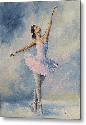 Ballerina 001 Metal Print