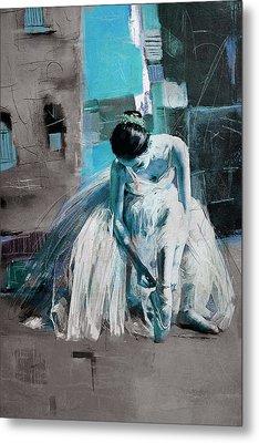 Ballerina 21 Metal Print by Mahnoor Shah