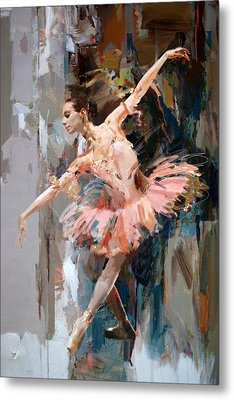 Ballerina 29 Metal Print by Mahnoor Shah