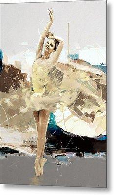 Ballerina 34 Metal Print by Mahnoor Shah