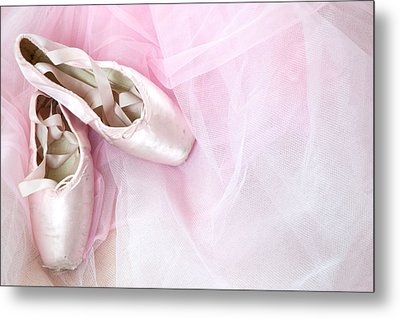 Ballerina Dreams Metal Print by Zina Zinchik