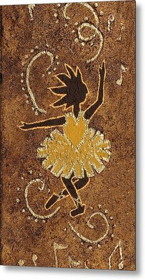 Ballerina Metal Print by Katherine Young-Beck