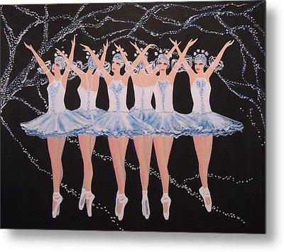 Ballerinas Metal Print