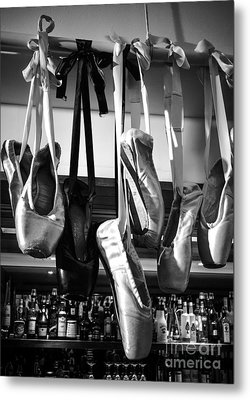 Ballet At The Bar Metal Print