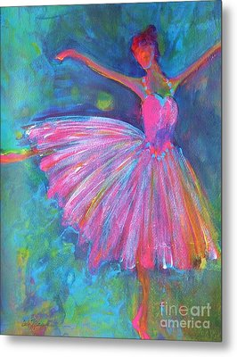 Ballet Bliss Metal Print