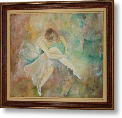 Ballet Dancers Metal Print by Ri Mo
