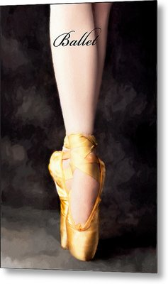 Ballet Metal Print by David Perry Lawrence