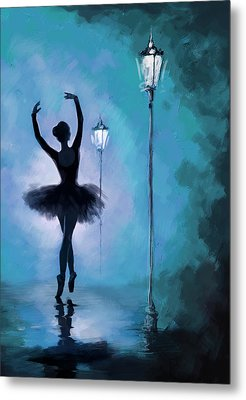 Ballet In The Night  Metal Print