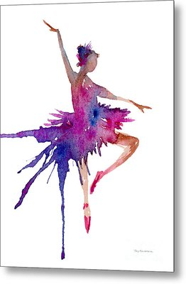 Ballet Retire Devant Metal Print by Amy Kirkpatrick