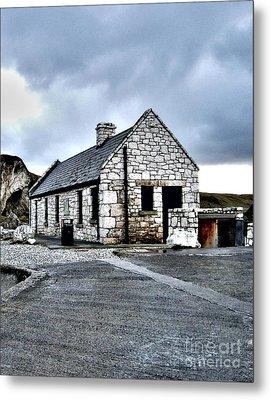 Ballintoy Stone House Metal Print