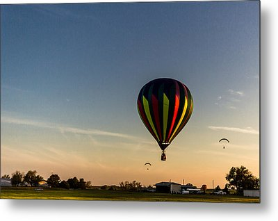 Metal Print featuring the photograph Balloon 8 by Jay Stockhaus