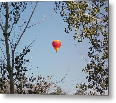 Balloon Candy Metal Print
