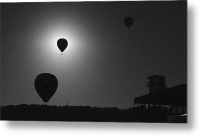 Balloon Eclipse Metal Print by Robert Harmon