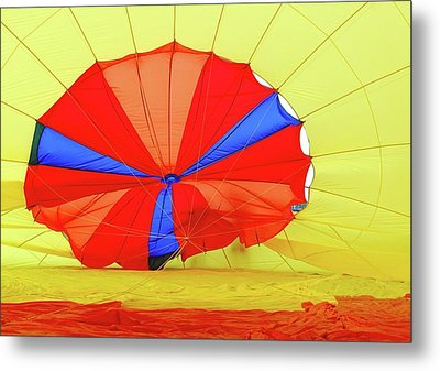 Metal Print featuring the photograph Balloon Fantasy   1 by Allen Beatty