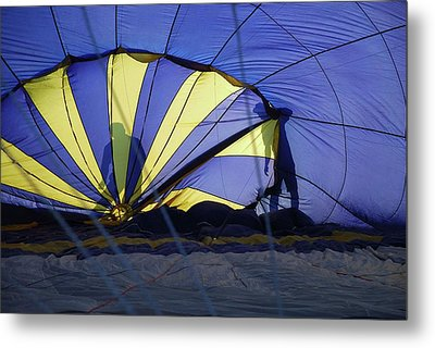 Metal Print featuring the photograph Balloon Fantasy 4 by Allen Beatty