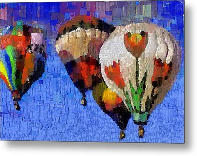 Balloon Fiesta Metal Print by Georgi Dimitrov