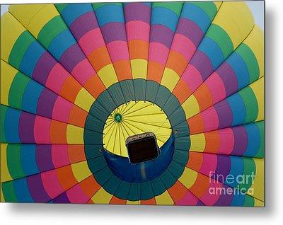 Balloon Lift-off  Metal Print by Patrick Shupert