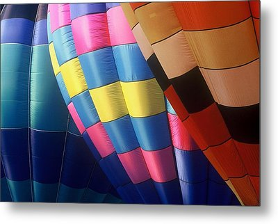 Metal Print featuring the photograph Balloon Patterns by Rodney Lee Williams