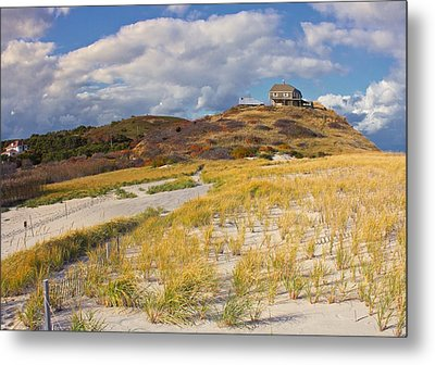 Metal Print featuring the photograph Ballston Beach Dunes by Constantine Gregory