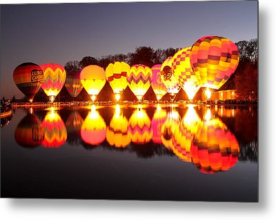 Metal Print featuring the photograph Balluminaria by Cathy Donohoue