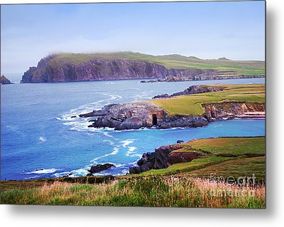 Ballyferriter Co. Kerry Ireland Metal Print by Jo Collins