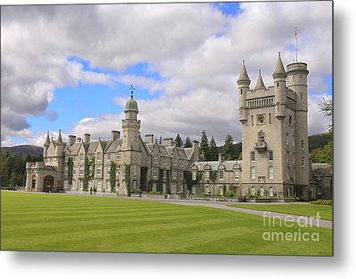 Balmoral Castle In Scotland Metal Print