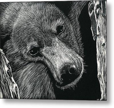Baloo Metal Print