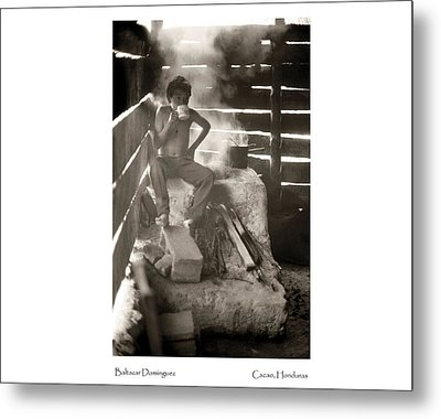 Metal Print featuring the photograph Baltazar Dominguez by Tina Manley