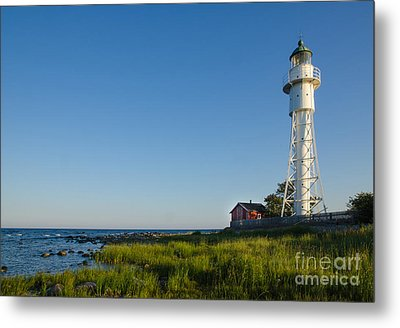 Baltic Sea Lighthouse Metal Print