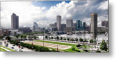 Baltimore Maryland Metal Print by Olivier Le Queinec