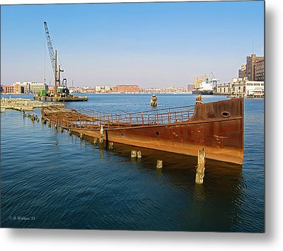 Metal Print featuring the photograph Baltimore Museum Of Industry by Brian Wallace