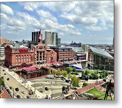 Baltimore Power Plant Metal Print